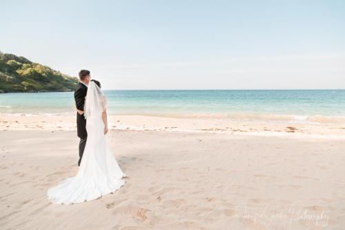 03. Beach Wedding by Jennifer Jordan Photography Cornwall